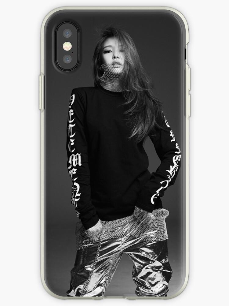 quality design 8ac4a 7ba5b 'jennie kim blackpink' iPhone Case by axeladebry