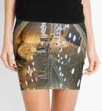 Salt mine underground Mini Skirt