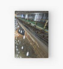 Salt mine underground Hardcover Journal