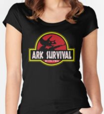 Ark Survival Women's Fitted Scoop T-Shirt