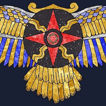 Sun Disk of Assyrian-Babylonia by ClarkiieRB