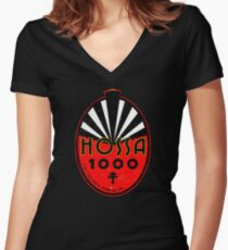 Hossa 1000 Women's Fitted V-Neck T-Shirt