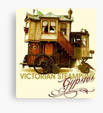 Victorian Steampunk Gypsies Canvas Print