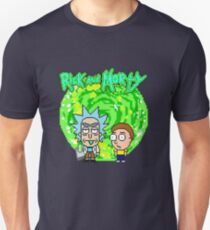 8-bit Universe Rick and Morty Unisex T-Shirt