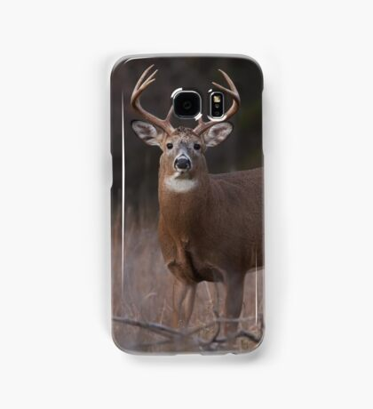White-tailed deer buck with huge neck in autumn rut Samsung Galaxy Case/Skin