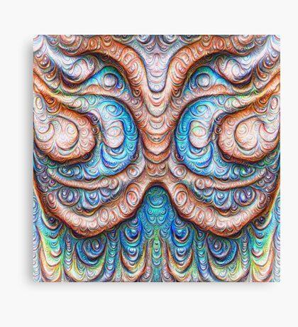 Frozen Monster mind #DeepDream #Art Canvas Print