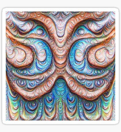 Frozen Monster mind #DeepDream #Art Sticker