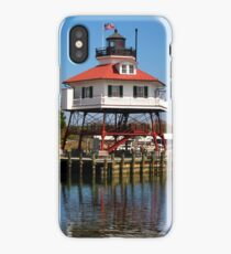 Drum Point Lighthouse, Maryland iPhone Case/Skin