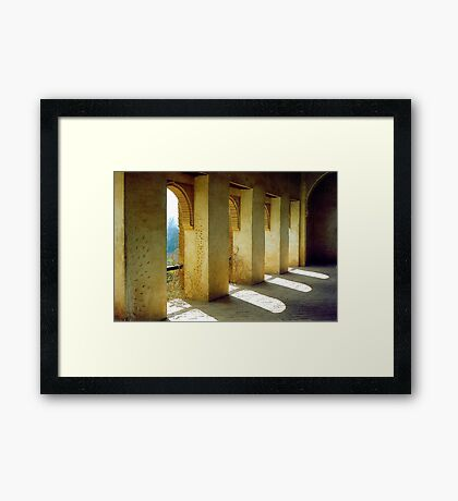 La Alhambra  Framed Print