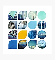 Cold Comfort Collage — The Blues Photographic Print