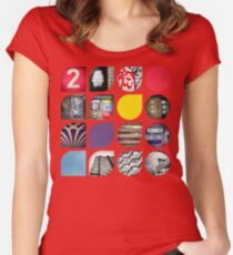 Cold Comfort Collage — The Streets Women's Fitted Scoop T-Shirt
