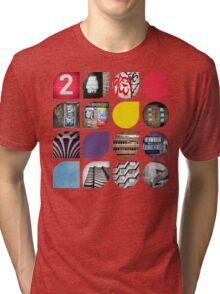 Cold Comfort Collage — The Streets Tri-blend T-Shirt