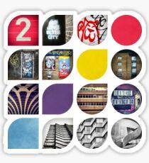 Cold Comfort Collage - Die Straßen Sticker