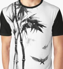 Japanese bamboo Graphic T-Shirt
