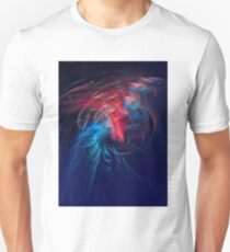 The feathers of exotic birds Unisex T-Shirt