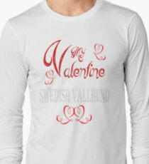 A Valentine Shirt with Swedish Vallhund T-Shirt