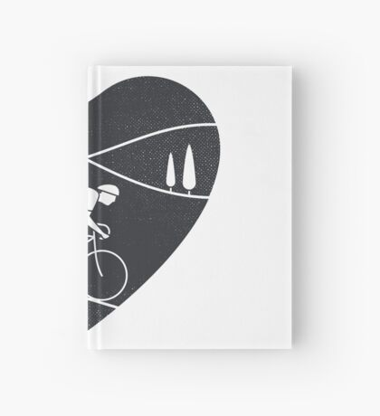 Love Cycling  Hardcover Journal