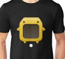 Glitch bag furniture cubimal blue display box Unisex T-Shirt