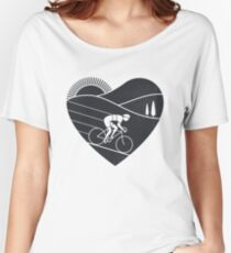 Love Cycling  Women's Relaxed Fit T-Shirt