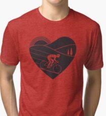 Love Cycling  Tri-blend T-Shirt