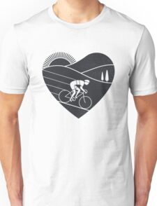 Love Cycling  Unisex T-Shirt