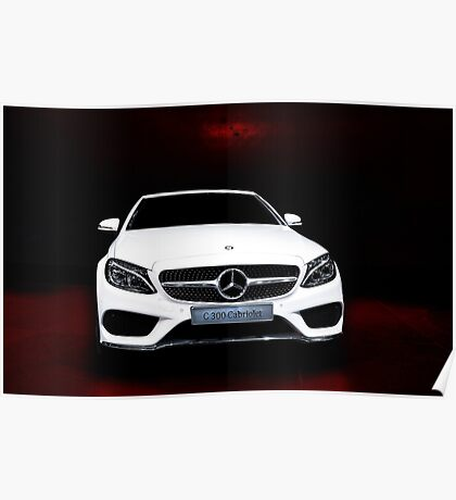 Mercedes posters redbubble for Mercedes benz poster