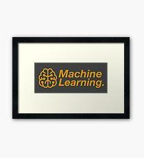 Machine Learning Framed Print