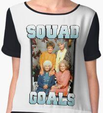 Golden Girls Squad Goals Women's Chiffon Top