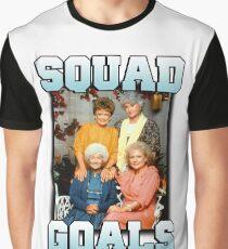 Golden Girls Squad Goals Graphic T-Shirt