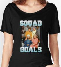 Golden Girls Squad Goals Women's Relaxed Fit T-Shirt