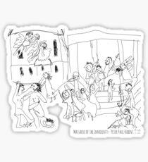 Massacre of the Innocents- Peter Paul Rubens Sticker