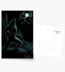 Howl of the Werewolf Postcards