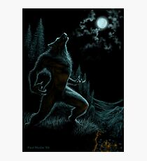 Howl of the Werewolf Photographic Print