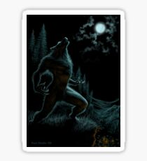 Howl of the Werewolf Sticker