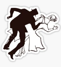 Alfred Hitchcock´s Vertigo Sticker