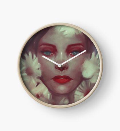 Flower nymph-Flora Clock
