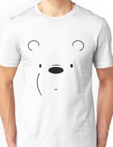 Ice Bears Face Unisex T-Shirt