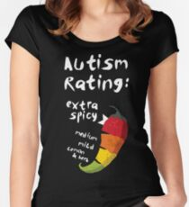 Spicy Autism Women's Fitted Scoop T-Shirt