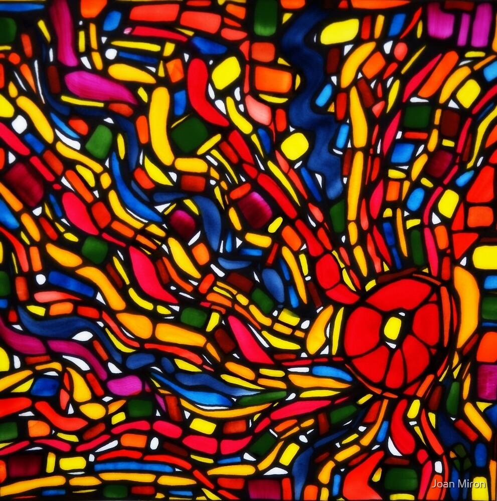 Energy Vortex by Joan Miron