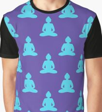 Buddha pattern Graphic T-Shirt