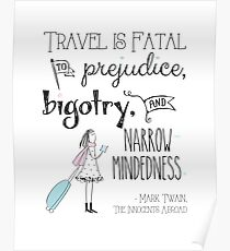 Travel is fatal Poster