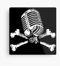 PIRATE RADIO Metal Print