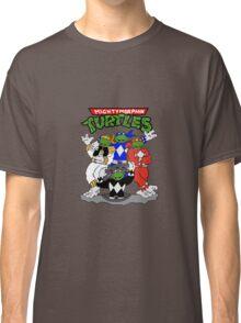 MIghty Morphin Turtles Retro Cartoons T-shirt
