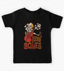 Rockin Bones - full colour Kids Tee