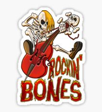 Rockin Bones - full colour Sticker