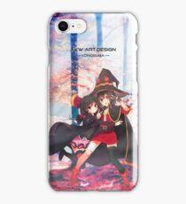《Crimson Demons》 KonoSuba || Megumin & Yunyun iPhone Case/Skin