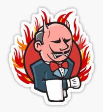 Angry Jenkins Sticker