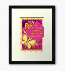 Christian Art Framed Print
