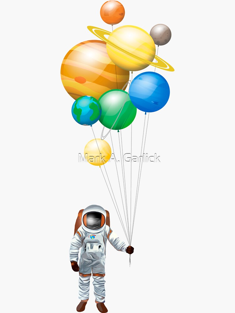 Planet Balloons - Design 2 by magarlick