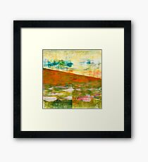 Yellow Mountain Framed Print